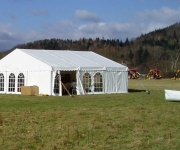 30ft x 30ft  Clearspan Marquee