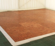 Wooden Parquet Dance Floor